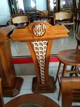 mimbar masjid simple musola