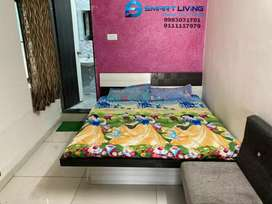 No brokrage , fully furnished studio flat at vijay nagar BRTS
