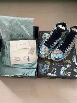 Dijual Sepatu/Sneakers Gucci High Bloom Original jaminan uang kembali