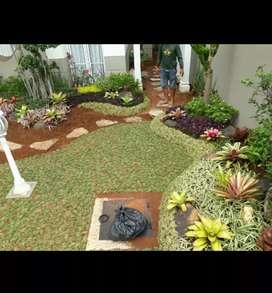 Jasa dan konstruksi taman rumah