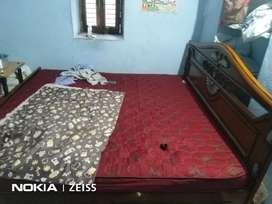 Double cot bed with box tipe
