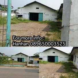 Dijual tanah dipinggir jalan raya daerah bekasi
