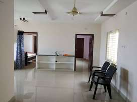 Semi furnished flat for selling on prime location