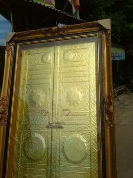 Kaligrafi Lukisan bingkai foto cermin