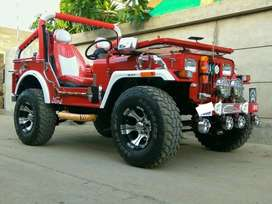 Red ford jeep for sale