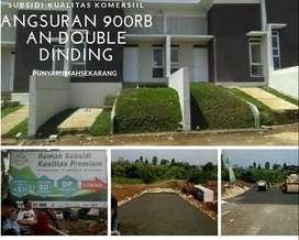 Rumah Subsidi Double Dinding Angsuran 900rban Dekat Kampus IPB Bogor