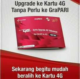 KARTU TELKOMSEL UPGRADE 3G KE 4G