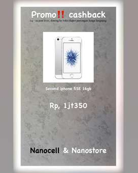 Iphone second berkualitas bergaransi