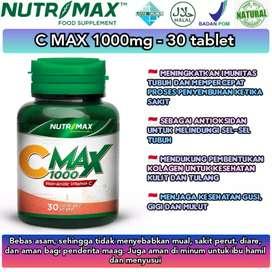 Nutrimax Cmax 1000 vit c aman di lambung untuk daya tahan tubuh