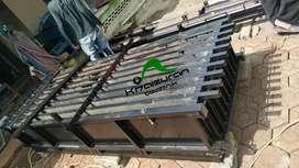 Sedia cetakan pagar beton kokoh