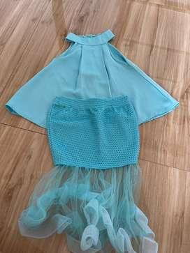 1 set baju mermaid