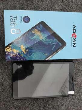Advan Tab 8 Ram 3/16 4G like new