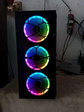 Gaming PC rgb casing 2 fan or 3 fan mid or full tower