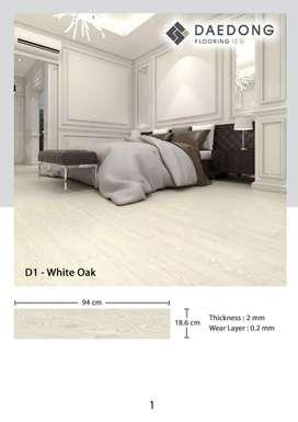 Lantai Vinyl 2mm Daedong D1 White Oak