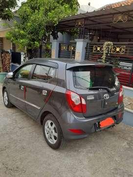 Jual Toyota Agya type G manual, grey 2015