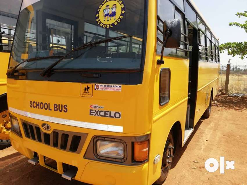 MAHINDRA EXCELO 32 SEATS SCHOOL BUS 0
