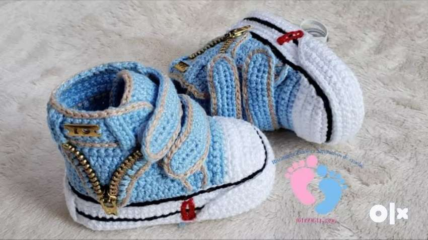 thread and woollen shoes  (out of Indore courier charges extra 0