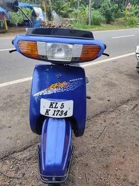 Excellent condition .2 stroke and 22394 km only.