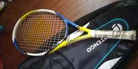 Tennis racket with bag
