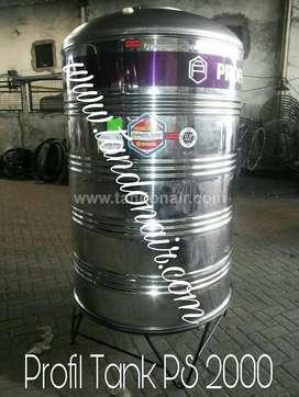 Tangki STAINLEES Steel PROFIL TANK2.000L