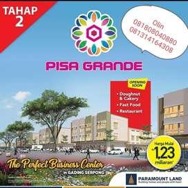Ruko harga 1 M an di Gading Serpong Pisa Grande 2 lokasi strategis