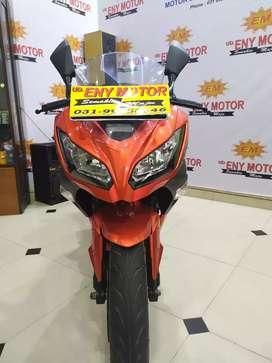 Kawasaki Ninja ABS SE thn 2014 plat pajak baru