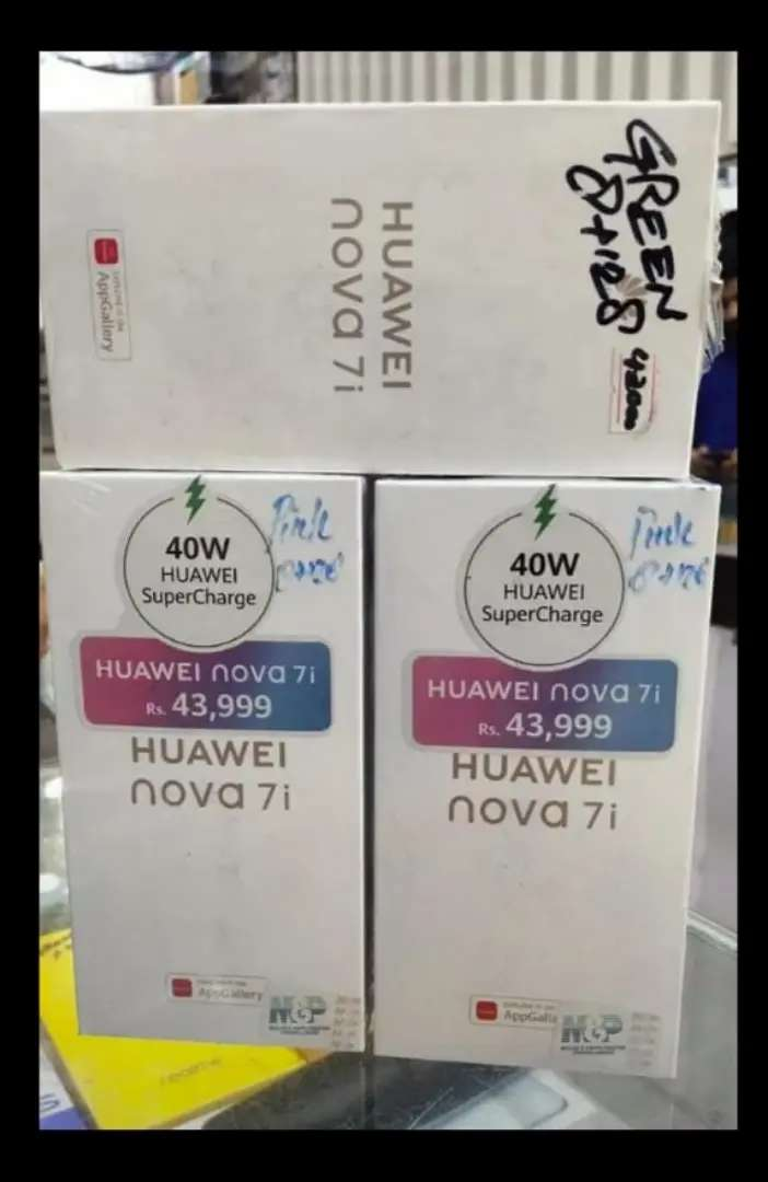 HUAWEI NOVA 7I BOX PACK (8+128) WHOLE SALE RATE 38501 0