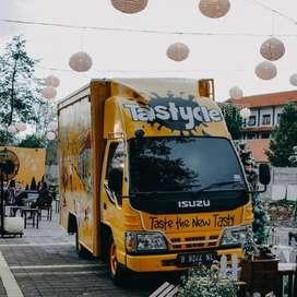 ISUZU ELF NKR 55 FOOD TRUCK 2012