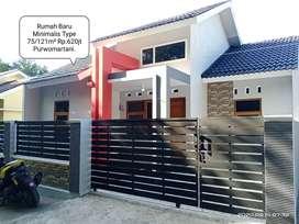 Jual Rumah Baru Minimalis Purwomartani Utara Wisata Kampung Bening