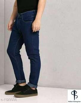 Men's Trendy Denim Solid Jeans