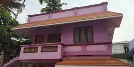 2 BHK first floor for rent at Vazhuthacaud near Palayam.