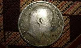 Antigue  British  India  coin  1904
