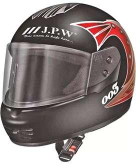 JPW Street pin stripes Full Face Helmet. Visor glass unbreakable