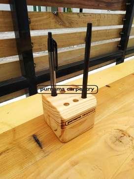 Tempat Pensil Jati Belanda Box