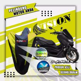 Cover Motor All New Nmax PCX Aerox Ninja CBR R15 Lexi Vario bisa COD