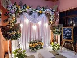 Paket dekorasi pernikahan dan catering