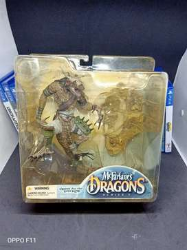 mcFarlane's Dragons series 3 : The Komodo Dragon Clan BNIB