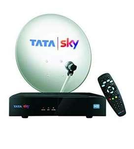 Tatasky antena + set top box+ remote