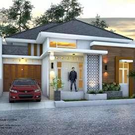 Rumah Murah Siap Bangun Desain Elegan, Barat Kampus UMY, Jalur Bandara