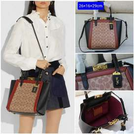 Tas Coach Wanita Original FO factory Outlate Tote Bag Shouder Bag