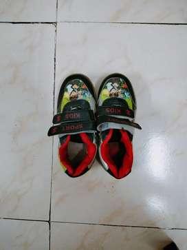Kids Ben 10 shoe 2 - 3 years..