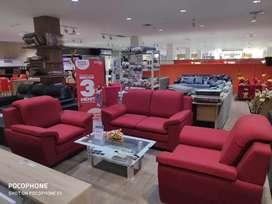 Sofa Grande Red bisa Kredit bunga 0%