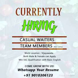 Wanted staff