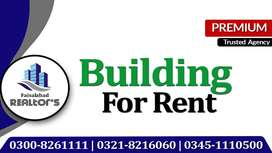 Ideal Building For Rent At Main Canal Road For Multinational Companies