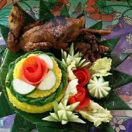 Libuuuur leboih lengkap dengan tumpeng nasi kotak dan lainny snack kue