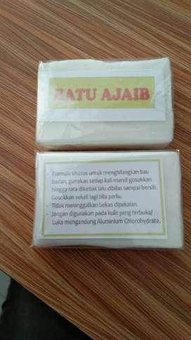 Batu Ajaib Makassar Penghilang Bau Badan / Deodoran Alami
