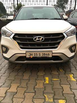 Hyundai Creta 2018 Diesel Top Model with Sunroof, 11 mnths insurance