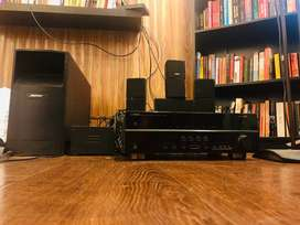 Bose + Yamaha Home Theater System