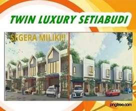 TWIN LUXURY Jl. Jl rambutan - Setia budi Medan  Rumah Cantik dan Mewah