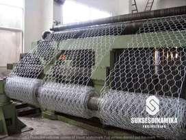 Pabrik Bronjong Anyaman Pabrikasi Mesin